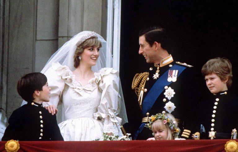 زواج الأميرة ديانا من الأمير تشارلز