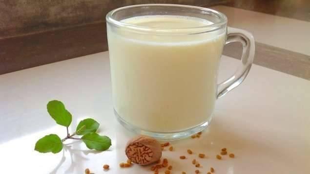فوائد الحلبة مع الحليب.