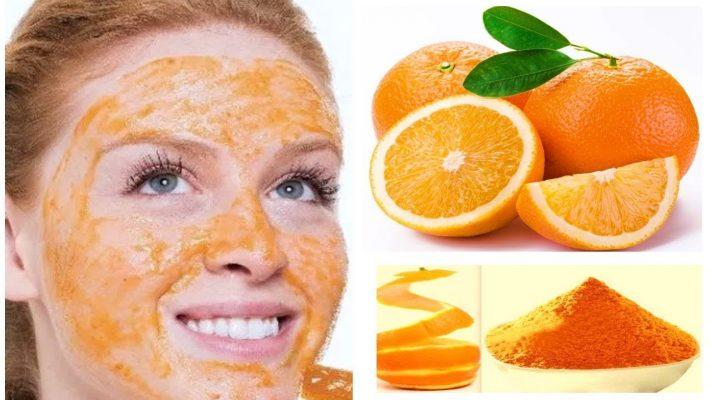 طرق استخدام البرتقال للوجه