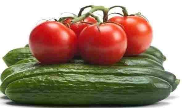فوائد الطماطم والخيار
