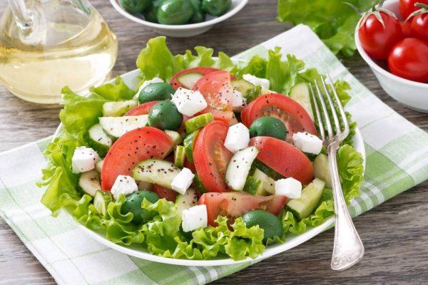 وصفات الطماطم والخيار
