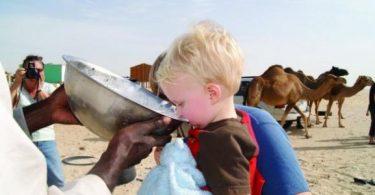 فوائد حليب الناقة للأطفال