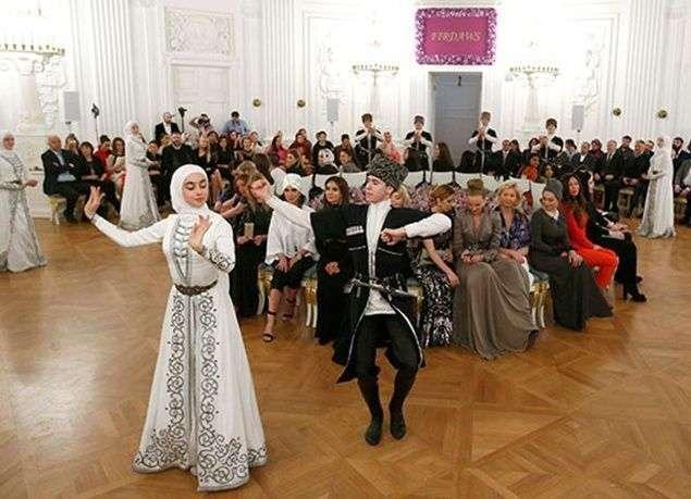 صفات الشعب الشيشاني