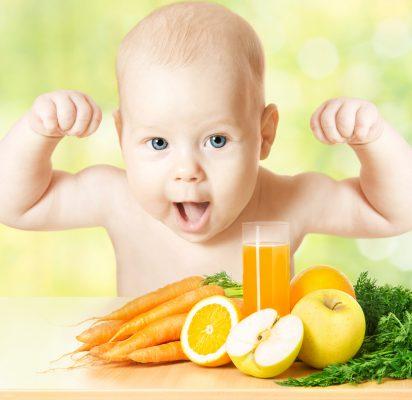 فوائد البرتقال للرضع