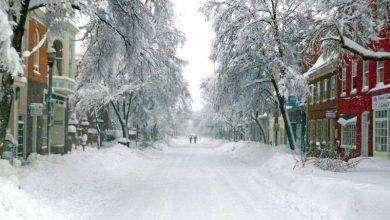 Photo of فصل الشتاء في ولاية ماريلاند الأمريكية