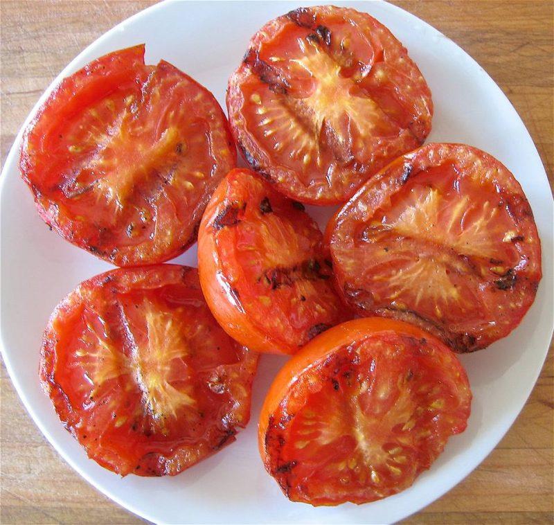فوائد الطماطم المشوية