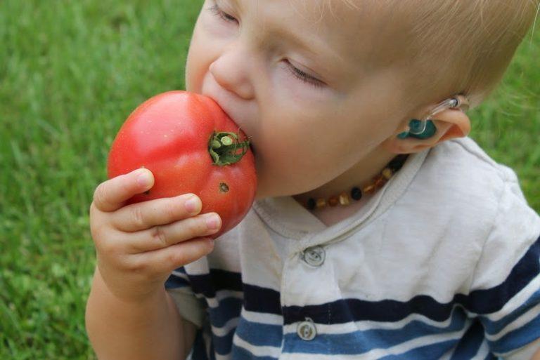 فوائد الطماطم للاطفال