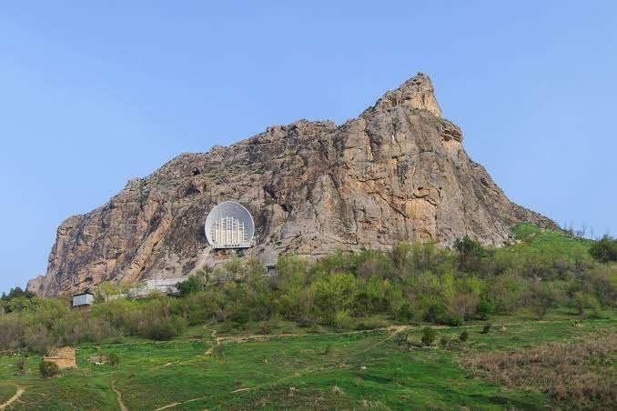 جبل سليمان في افغانستان