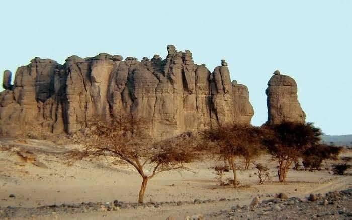 الجبال في تشاد