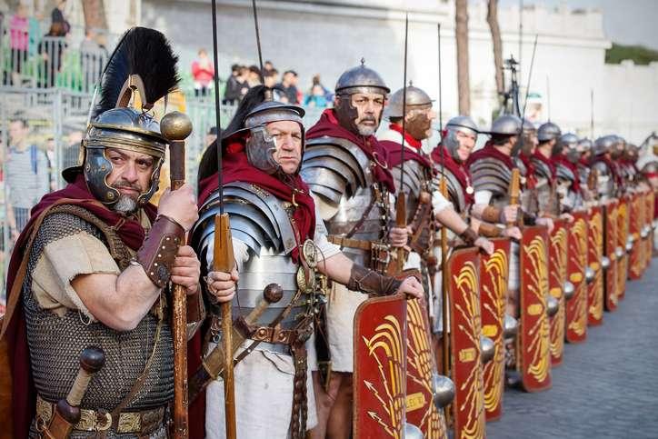 مميزات الشعب الروماني