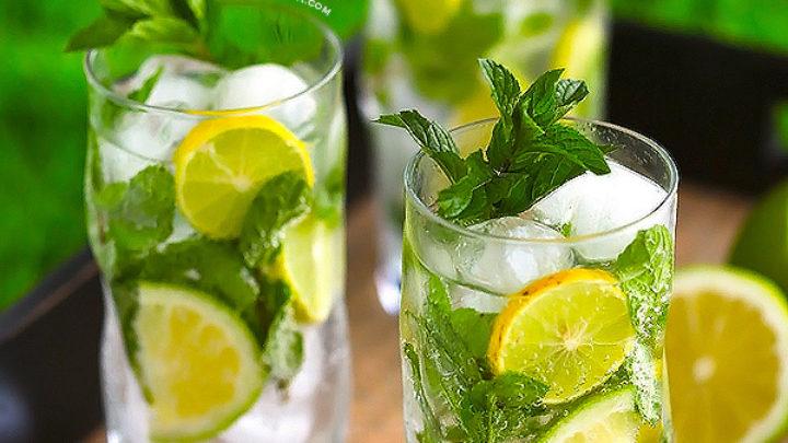 فوائد الليمون مع النعناع