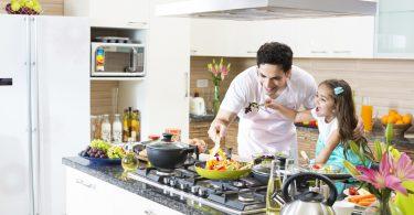 فوائد الطبخ مع الأطفال