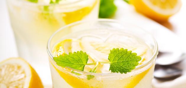 فائدة ماء الليمون البارد صباحًا
