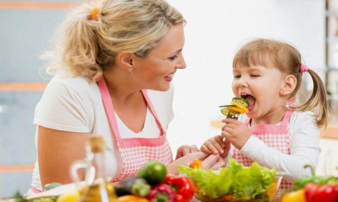 فوائد الطبخ للأطفال