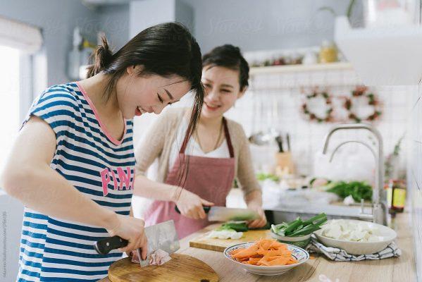 فوائد الطبخ المنزلي