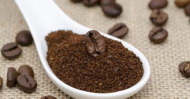 فوائد تفل القهوة للوجه