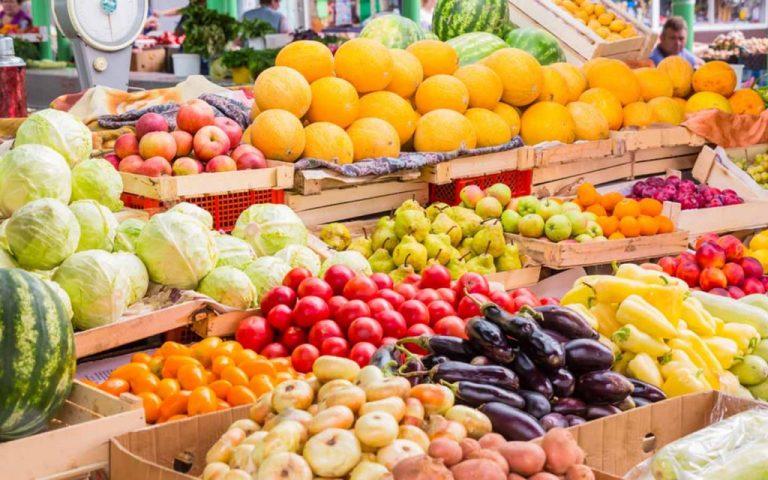 سوق الفواكه والخضار فى مدينة دبي