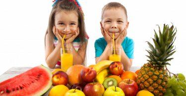 فوائد الاكل الصحي للاطفال