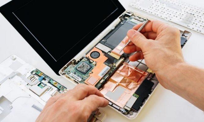 خدمة إصلاح الإلكترونيات