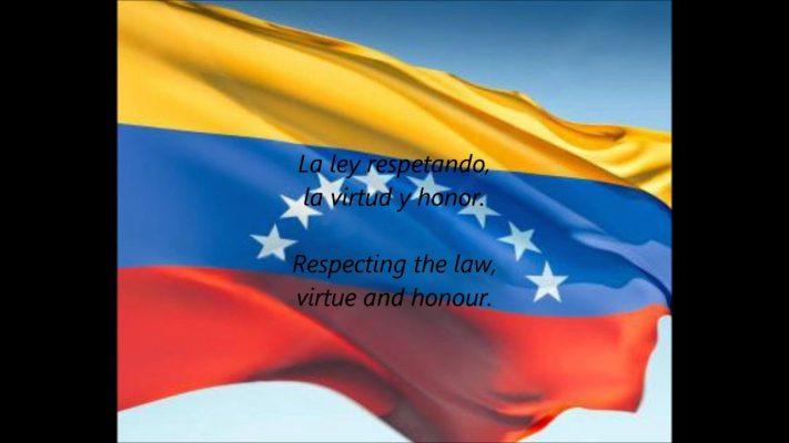 تعرف على النشيد الوطني الفنزويلي