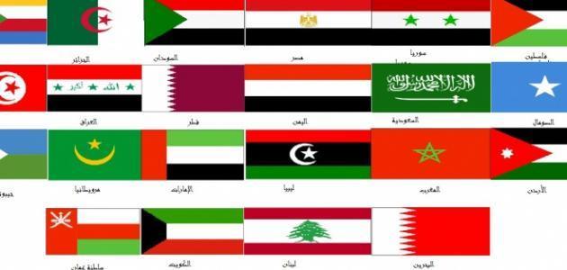 النشيد الوطني لجميع الدول العربية