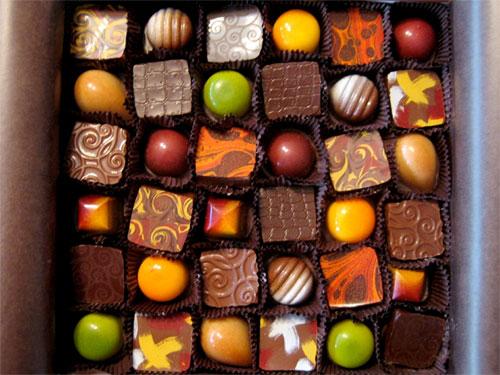 خواطر عن الشوكولاته من الفنّانين