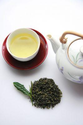 شاي سينشا الأخضر