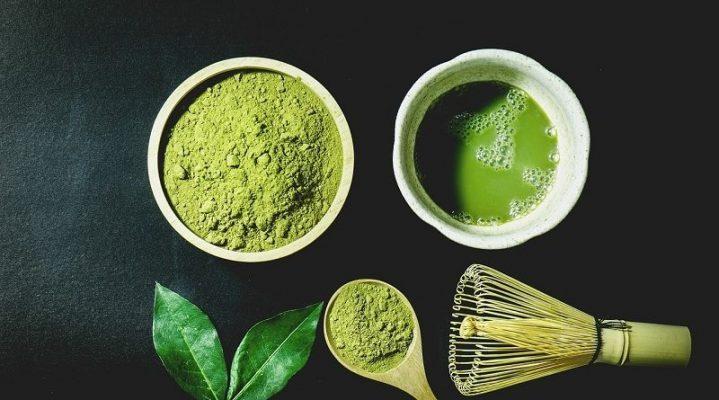 شاي ماتشا الأخضر