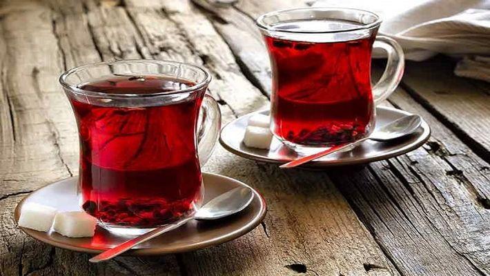"""شاي """" Dragonwater"""" الأحمر بالكراميل"""