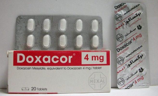 اقراص دوكساكور Doxacor لعلاج تضخم البروستاتا