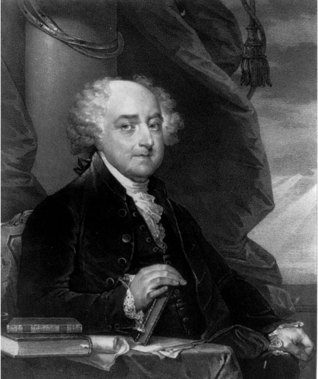 سيرة ذاتية للرئيس الأمريكي جون آدمز 1797-1801م