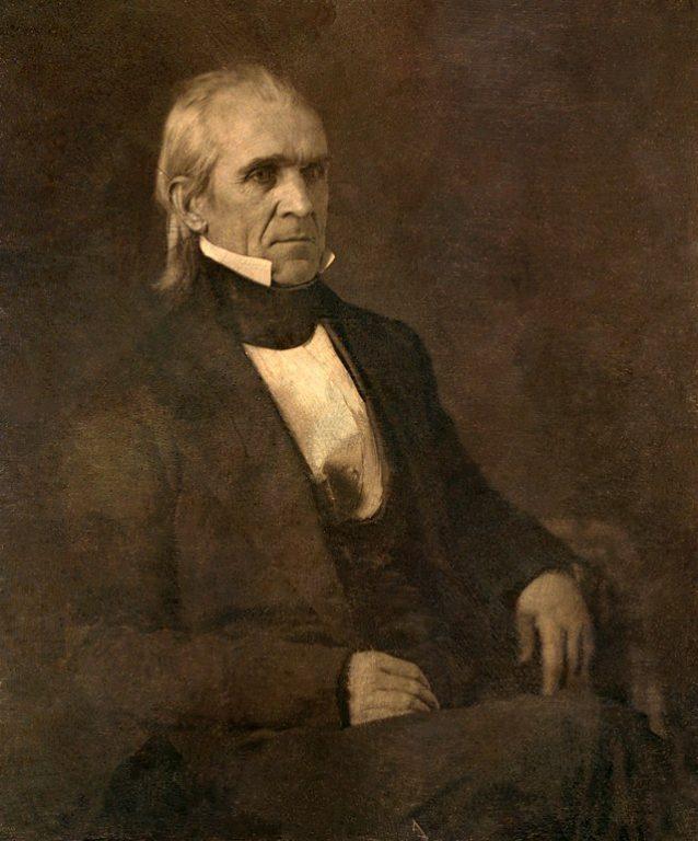 صورة سيرة ذاتية للرئيس جيمس بوك 1845 -1849 م
