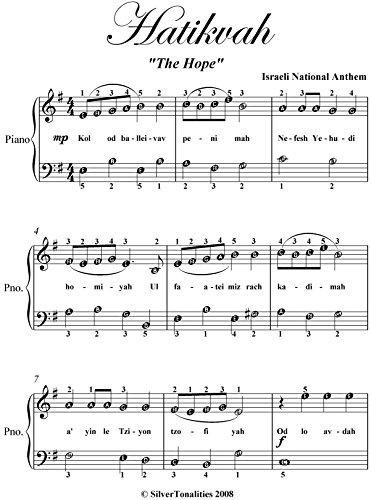 النشيد الوطني الاسرائيلي