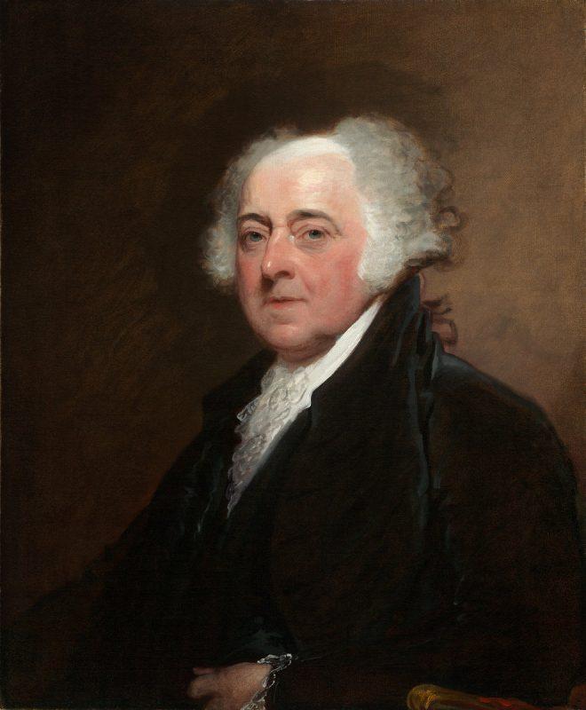 صورة سيرة ذاتية للرئيس الأمريكي جون آدمز 1797-1801م