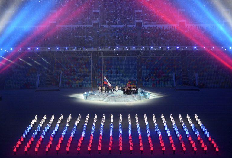 جزء من النشيد الوطني الروسي