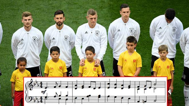 النشيد الوطني الالماني
