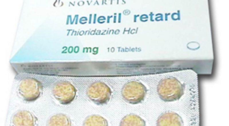 صورة ميلاريل Mellaril علاج مرض الانفصام والقلق والتوتر