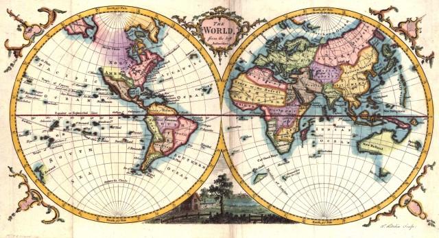 الخريطة الموضوعية والعامة