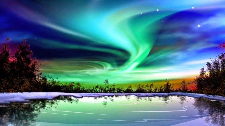 ماهو الشفق القطبي