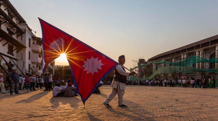 النشيد النيبال الحديث