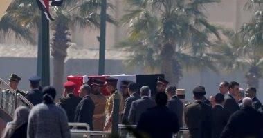 Photo of مراسم جنازة حسني مبارك