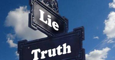 تعبير عن الصدق والكذب بالعناصر الرئيسية