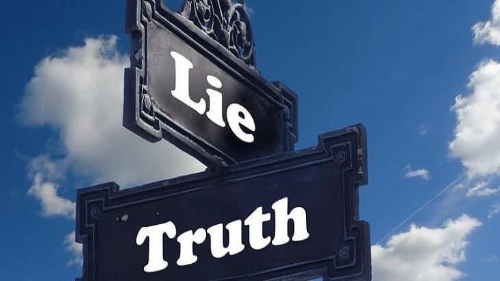 Photo of تعبير عن الصدق والكذب بالعناصر الرئيسية