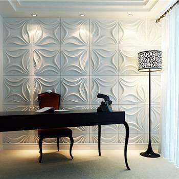 أوراق حائط حديثة بأشكال رائعة 3D ديكورات الجدران
