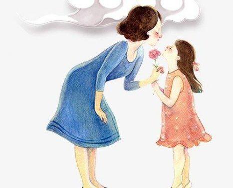 موضوع تعبير عن الأم المثالية بالعناصر الرئيسية