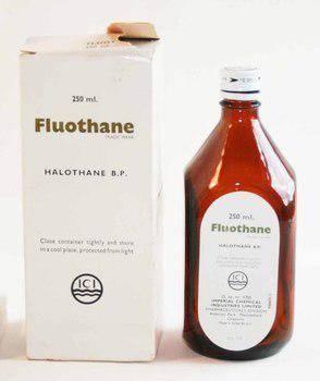 صورة فلوثان Fluothane محلول مخدر