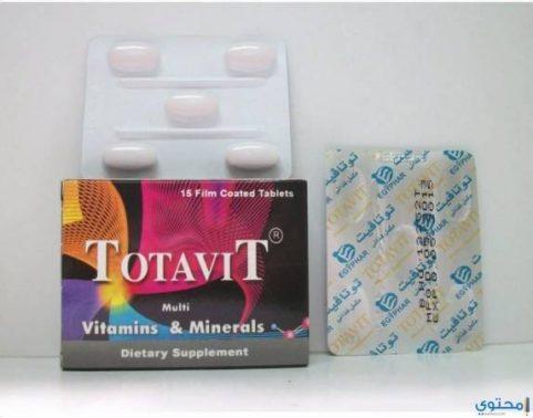 شراب توتافيت Totavit مكمل غذائي للأطفال
