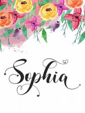 معنى اسم صوفيا