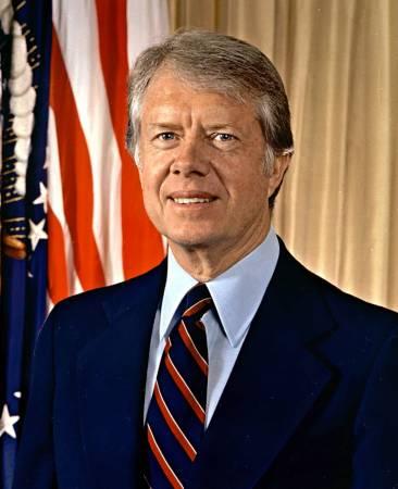 -الرئيس جيمي كارتر في الفترة من 1977-1981م