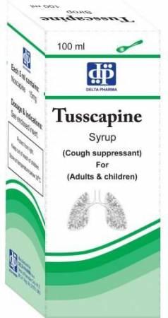 Photo of شراب توسكابين Tusscapine لعلاج الكحة الجافة